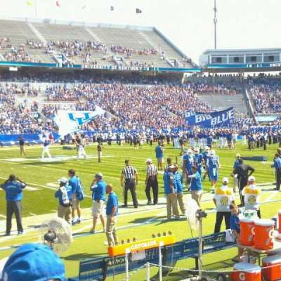 Commonwealth Stadium, section: 110, row: 5, seat: 13