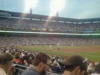 PNC Park, section: 105, row: B, seat: 1