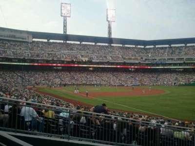 PNC Park, section: 101, row: R, seat: 1