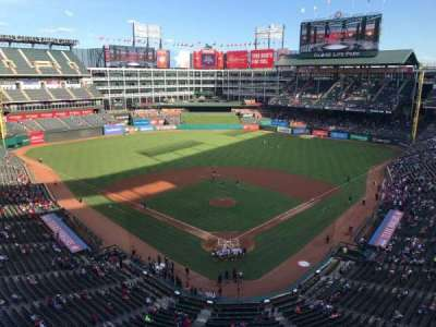 Globe Life Park in Arlington, section: 326, row: 1, seat: 1