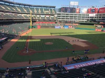 Globe Life Park in Arlington, section: 231, row: 1, seat: 2