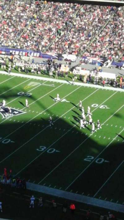 Gillette Stadium, section: 327, row: 9, seat: 14