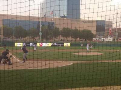 Victory Field, section: 114, row: 3, seat: 1