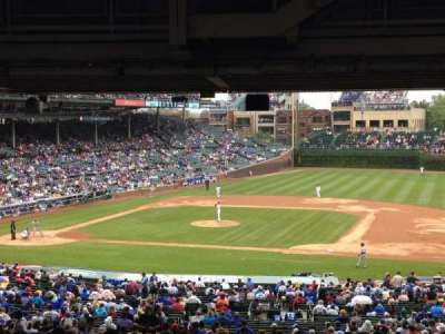 Wrigley Field, section: 229