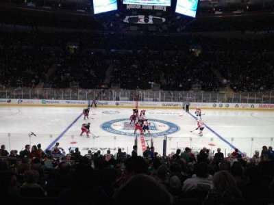 Madison Square Garden, section: 107