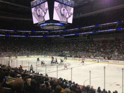 PPG Paints Arena, section: 110, row: N, seat: 9