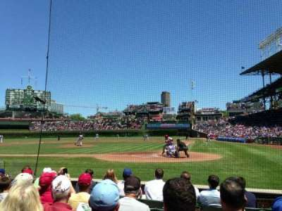 Wrigley Field, section: 17, row: 3, seat: 102