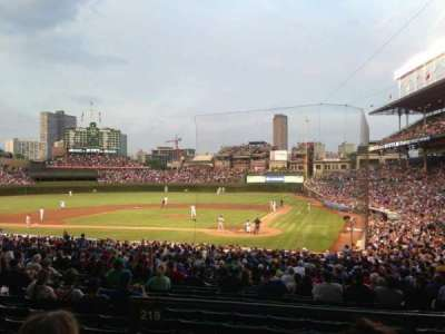 Wrigley Field, section: 218, row: 3, seat: 3