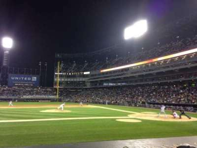 Guaranteed Rate Field, section: 138, row: 10, seat: 8