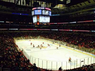 United Center, section: 229, row: 3, seat: 1