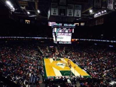 BMO Harris Bradley Center, section: 413, row: B, seat: 2