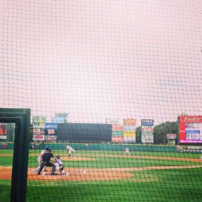 Frontier Field, section: 115, row: E, seat: 1