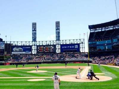 Guaranteed Rate Field, section: 135, row: 10, seat: 7