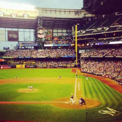 Miller Park, section: 222, row: 4, seat: 2