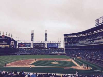 Guaranteed Rate Field, section: 137, row: 35, seat: 8