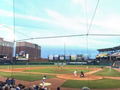 Chickasaw Bricktown Ballpark, section: 109, row: M , seat: 14