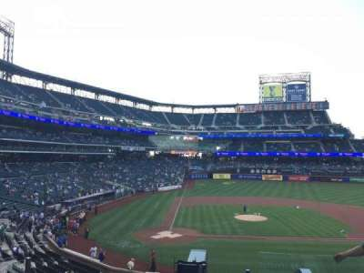 Citi Field, section: 116, row: 5, seat: 21