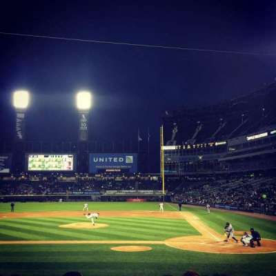 U.S. Cellular Field, section: 137, row: 14, seat: 1