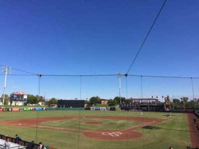 Scottsdale Stadium, section: 201, row: O, seat: 7