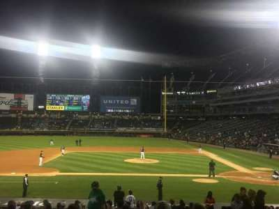U.S. Cellular Field, section: 138, row: 22, seat: 3