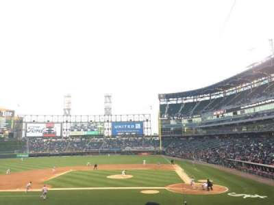 U.S. Cellular Field, section: 137, row: 29, seat: 3
