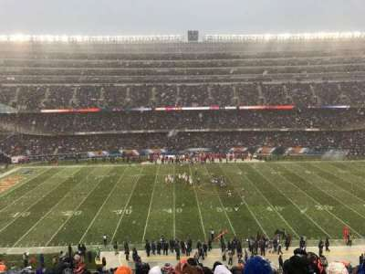 Soldier Field, section: 338, row: 14, seat: 4