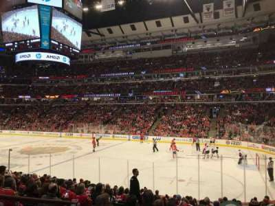 United Center, section: 120, row: 15, seat: 12