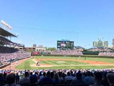 Wrigley Field, section: 124, row: 13, seat: 2