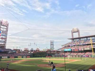 Citizens Bank Park, section: Diamond D, row: 16, seat: 2