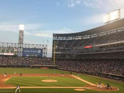 Guaranteed Rate Field, section: 139, row: 27, seat: 1