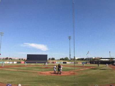 Peoria Sports Complex, section: 101, row: H, seat: 2
