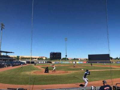 Peoria Sports Complex, section: 104, row: H, seat: 3