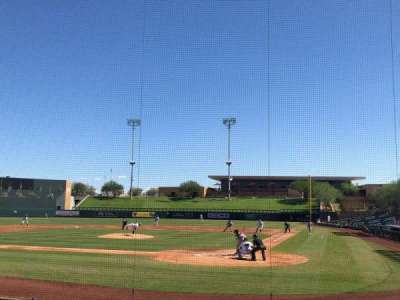 Salt River Fields, section: 114, row: 11, seat: 1