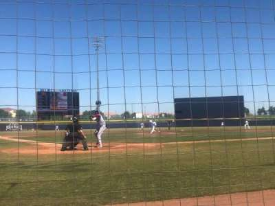 Peoria Sports Complex, section: 102, row: A, seat: 8
