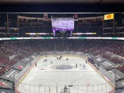 Gila River Arena, section: C5, row: E, seat: 2