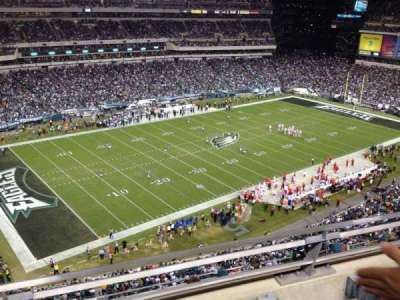 Lincoln Financial Field section 220