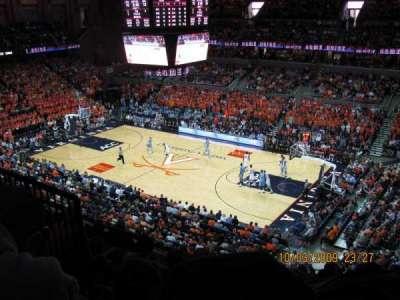 John Paul Jones Arena, section: 311, row: H, seat: 11