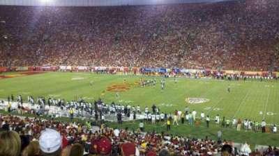 Los Angeles Memorial Coliseum, section: 5H, row: 43, seat: 102