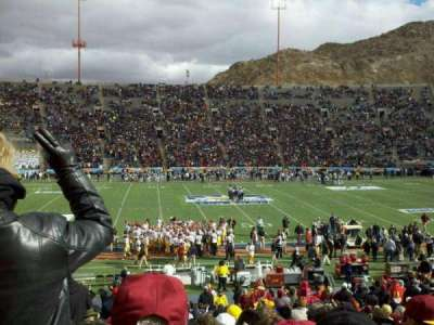Sun Bowl Stadium section 6