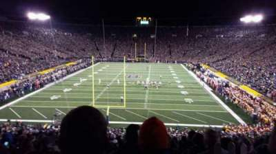 Notre Dame Stadium, section: 118, row: wc, seat: 9