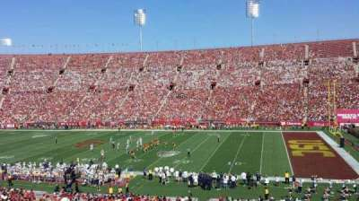 Los Angeles Memorial Coliseum, section: 5, row: 43, seat: 105W