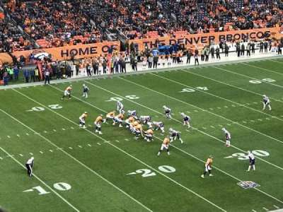 Invesco Field at Mile High, section: 343, row: 10, seat: 7