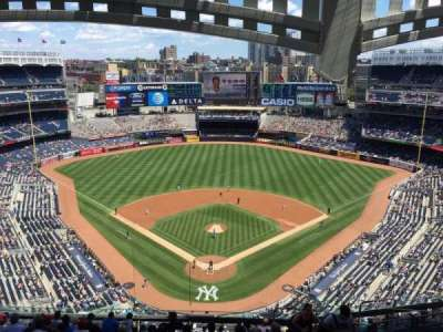 Yankee Stadium, section: 420B, row: 13, seat: 7