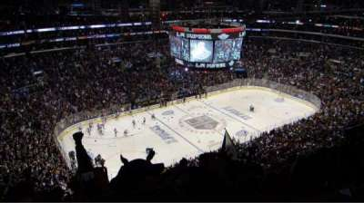 Staples Center, section: 321, row: 12, seat: 17