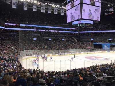 Barclays Center, section: 12, row: 20, seat: 7