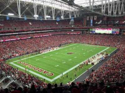University of Phoenix Stadium, section: 453, row: 9, seat: 9