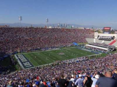 Los Angeles Memorial Coliseum, section: 10L, row: 93, seat: 3