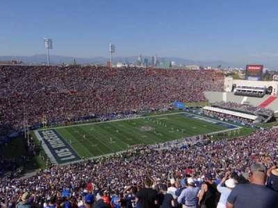 Los Angeles Memorial Coliseum, section: 10L, row: 93, seat: 3