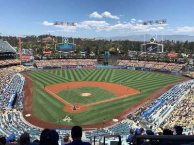 Dodger Stadium, section: 2RS, row: M, seat: 22