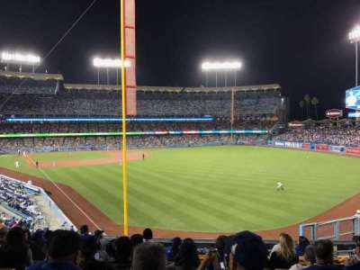 Dodger Stadium section 166LG
